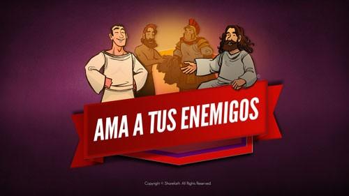 Video de la Biblia Mateo 5 Ama a tus enemigos para niños