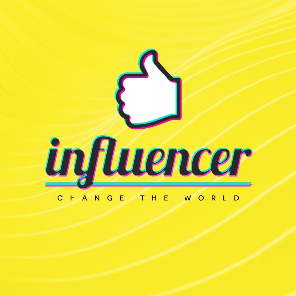 Influencer Yellow Church Social Media Graphic