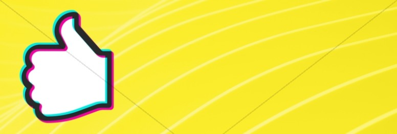 Influencer Yellow Church Website Banner