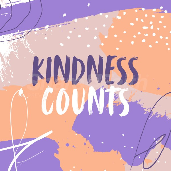 Kindness Counts Social Media Graphic