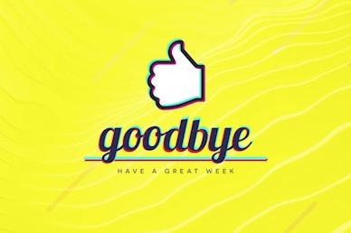 Influencer Yellow Goodbye Church Video