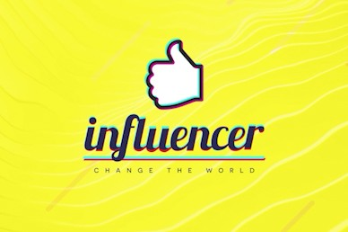 Influencer Yellow Title Church Video