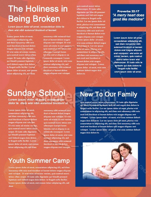 School Supply Drive Pencil Church Newsletter