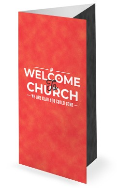 Relationship Goals Red Church Trifold Bulletin