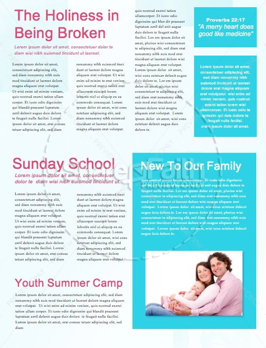 We Are Family Church Newsletter