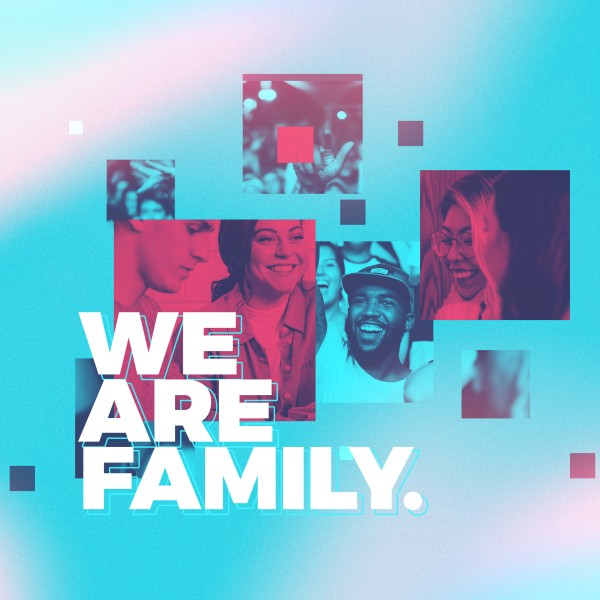 We Are Family Church Social Media Graphic