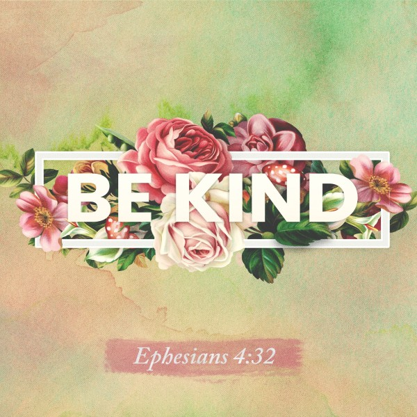 Be Kind Rose Church Social Media Graphic