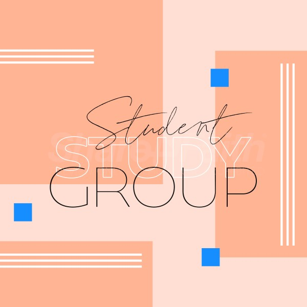 Student Study Group Social Media Graphic