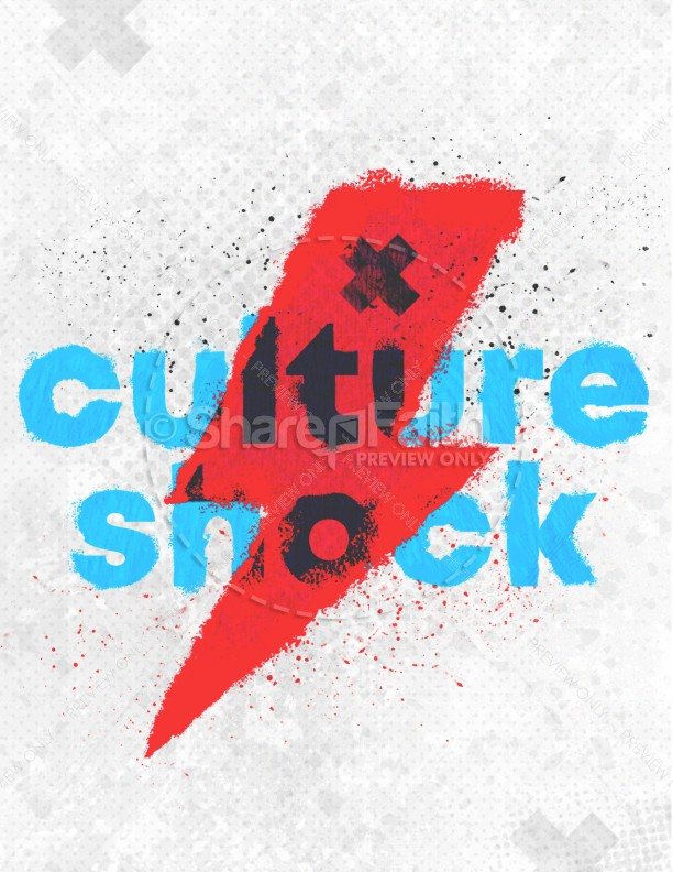 Culture Shock Church Flyer