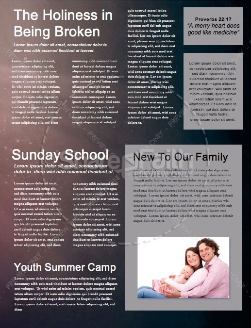 Hope In The Dark Church Newsletter