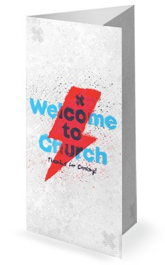 Culture Shock Church Trifold Bulletin