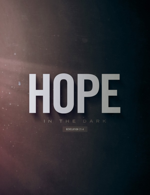 Hope In The Dark Church Flyer
