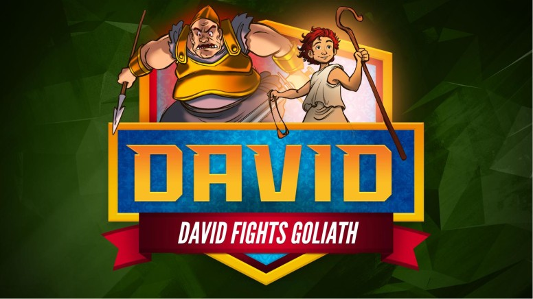 1 Samuel 17 David Fights Goliath Kids Bible Story