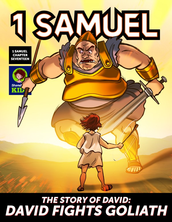 1 Samuel 17 David Fights Goliath Digital Comic