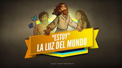 Video de la Biblia de Juan 8 Luz del mundo para niños