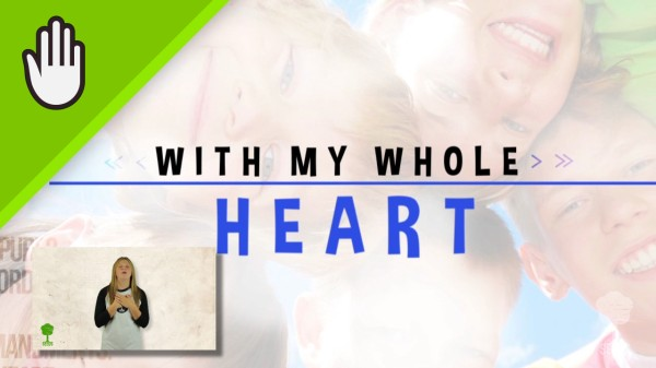 Your Word In My Heart Kids Worship Video for Kids Hand Motions