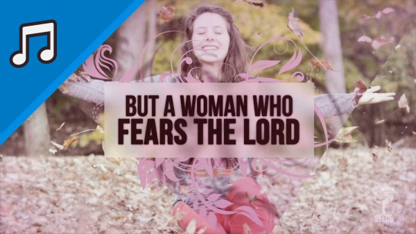 A Woman Who Fears The Lord Kids Worship Video for Kids Instrumental