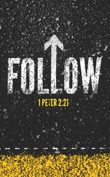 Follow Road Church Bifold Bulletin