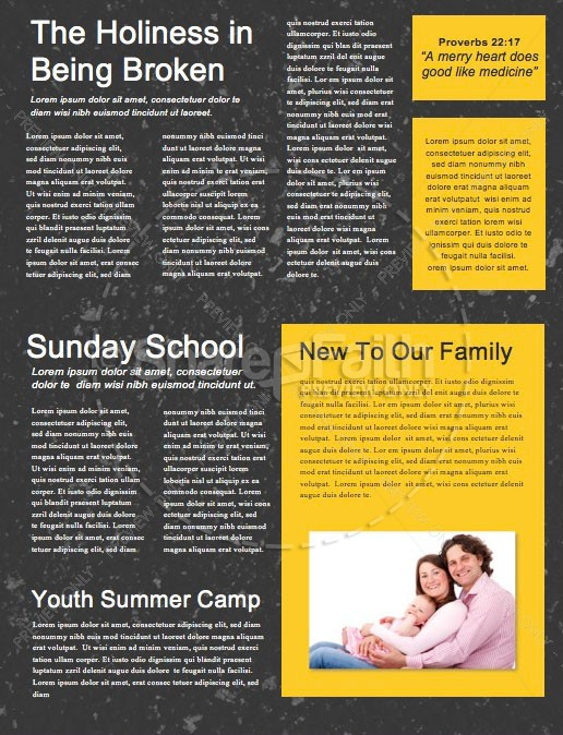 Follow Road Church Newsletter