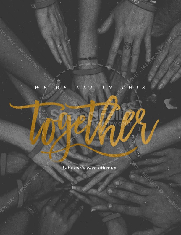 In This Together Church Flyer | page 1