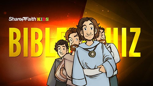 Book of Daniel Bible Quiz For Kids
