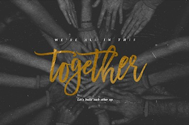 In This Together Title Church Video
