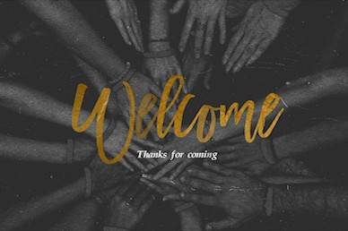 In This Together Welcome Church Video