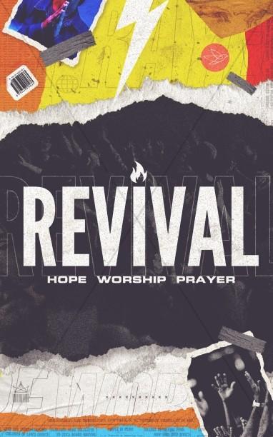 Revival Church Bifold Bulletin
