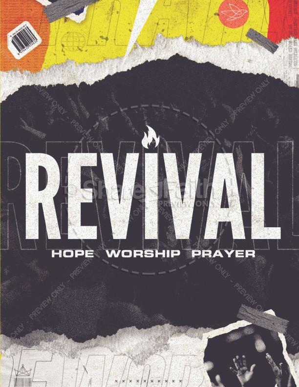 Revival Hope Church Flyer
