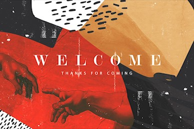 Imago Dei Welcome Church Motion Graphic