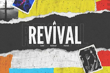 Revival Hope Title Church Motion Graphic
