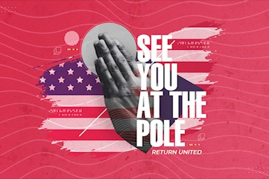 Red See You At The Pole Title Church Video