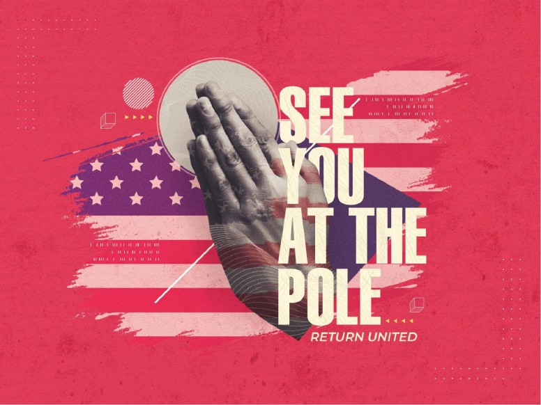 Red See You At The Pole Church PowerPoint