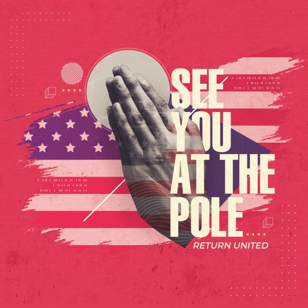 Red See You At The Pole Social Media Graphic