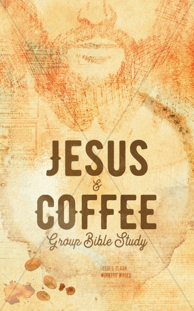Jesus And Coffee Church Bifold Bulletin