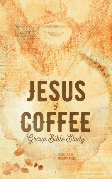 Jesus And Coffee Church Bifold Bulletin