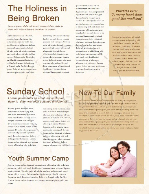 Jesus And Coffee Church Newsletter
