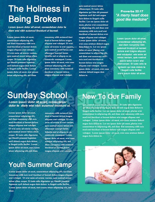 Baptism Sunday Green Church Newsletter | page 2