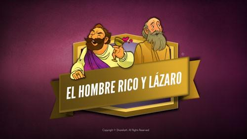 Lucas 16 Video bíblico de Lázaro y el hombre rico para niños