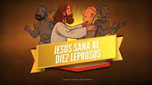 Lucas 17 Video Bíblico de los Diez Leprosos para Niños