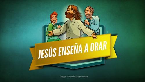 El video bíblico del Padre Nuestro para niños
