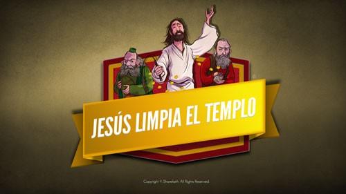 Mateo 21 Jesús Limpia el Templo Video Bíblico Para Niños