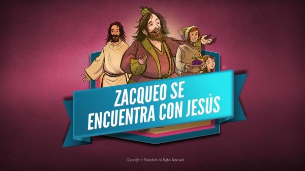 Lucas 19 Historia de Zaqueo video bíblico para niños