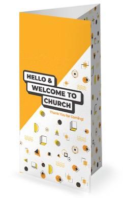 Pastor Appreciation Church Trifold Bulletin
