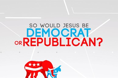 Political Jesus Church Motion Graphic