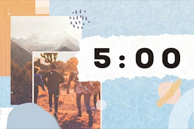 Small Groups Big Difference Countdown Video Timer