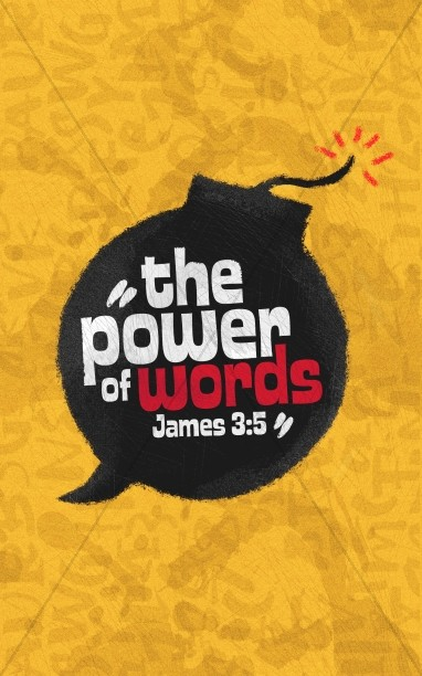 Power Of Words Church Bifold Bulletin