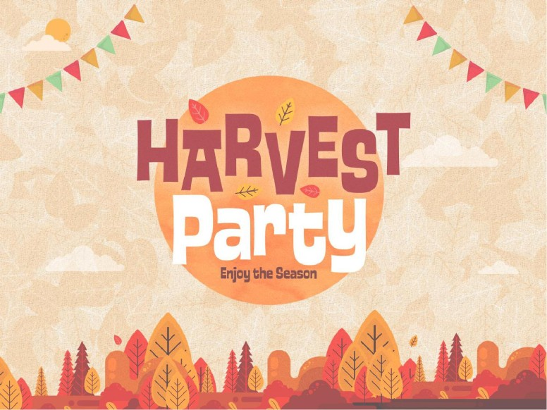 Autumn Harvest Party Church PowerPoint