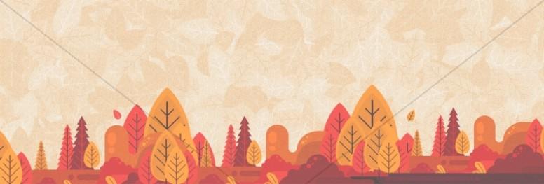 Autumn Harvest Party Church Website Banner