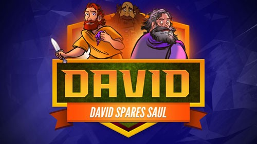 1 Samuel 23 24 David Spares Saul Bible Video for Kids